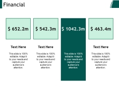 Financial Ppt PowerPoint Presentation Layouts Format Ideas