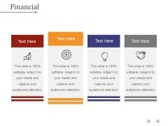 Financial Ppt PowerPoint Presentation Layouts