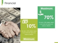 Financial Ppt PowerPoint Presentation Model Background Designs