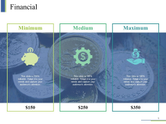 Financial Ppt PowerPoint Presentation Pictures Visual Aids