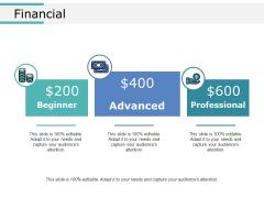 Financial Ppt PowerPoint Presentation Show Maker