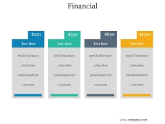 Financial Ppt PowerPoint Presentation Show
