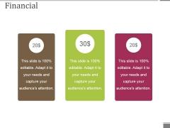 Financial Ppt PowerPoint Presentation Slides Inspiration