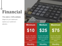 Financial Ppt PowerPoint Presentation Styles Layouts