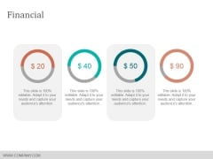 Financial Ppt Powerpoint Presentation Summary Slide Download