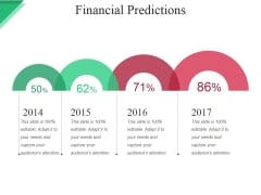Financial Predictions Ppt PowerPoint Presentation File Clipart Images