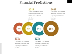 Financial Predictions Ppt PowerPoint Presentation Show Infographic Template