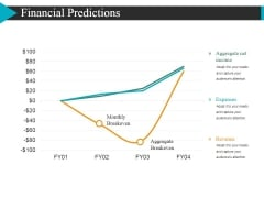 Financial Predictions Template 1 Ppt Powerpoint Presentation Portfolio Example Introduction