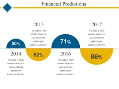 Financial Predictions Template 2 Ppt PowerPoint Presentation Show Example