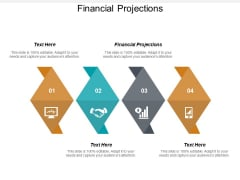 Financial Projections Ppt PowerPoint Presentation Outline Images Cpb