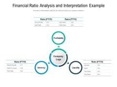Financial Ratio Analysis And Interpretation Example Ppt PowerPoint Presentation Layouts Professional