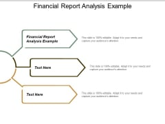 Financial Report Analysis Example Ppt Powerpoint Presentation Infographics Show Cpb