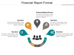 Financial Report Format Ppt PowerPoint Presentation File Elements Cpb