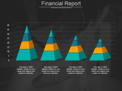 Financial Report Ppt PowerPoint Presentation Summary Gridlines