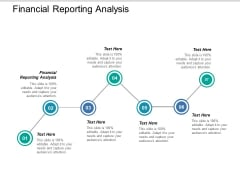 Financial Reporting Analysis Ppt PowerPoint Presentation Icon Graphics Design Cpb