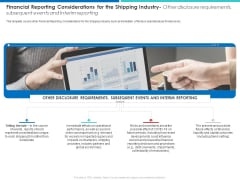 Financial Reporting Considerations For The Shipping Industry Information PDF