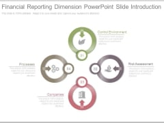 Financial Reporting Dimension Powerpoint Slide Introduction