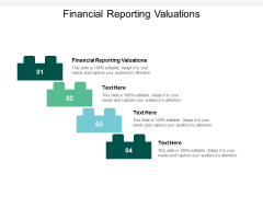 Financial Reporting Valuations Ppt PowerPoint Presentation Outline Themes Cpb