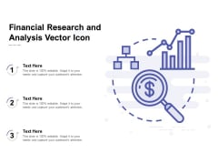 Financial Research And Analysis Vector Icon Ppt PowerPoint Presentation Model Structure