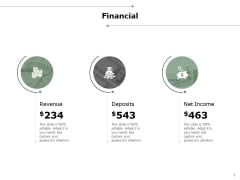 Financial Revenue Deposits Ppt PowerPoint Presentation Infographics Clipart