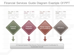 Financial Services Guide Diagram Example Of Ppt