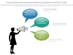 Financial Services Investment Banking Template Powerpoint Guide