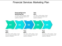 Financial Services Marketing Plan Ppt PowerPoint Presentation Show Files Cpb