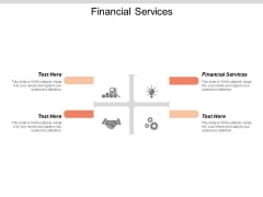 Financial Services Ppt PowerPoint Presentation Pictures Backgrounds Cpb