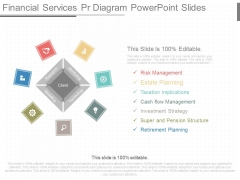 Financial Services Pr Diagram Powerpoint Slides