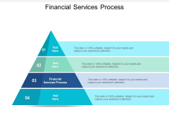Financial Services Process Ppt PowerPoint Presentation Visuals Cpb