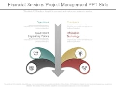 Financial Services Project Management Ppt Slides