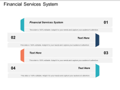 Financial Services System Ppt PowerPoint Presentation Infographics Show