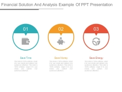 Financial Solution And Analysis Example Of Ppt Presentation