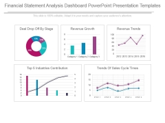 Financial Statement Analysis Dashboard Powerpoint Presentation Templates