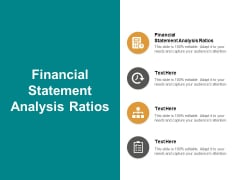 financial statement analysis ratios ppt powerpoint presentation show graphics cpb
