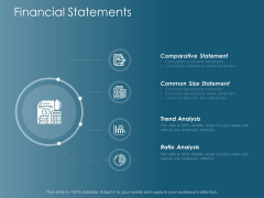 Financial Statements Ppt Powerpoint Presentation Inspiration Example