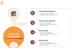 Financial Statements Ppt PowerPoint Presentation Pictures Layout Ideas