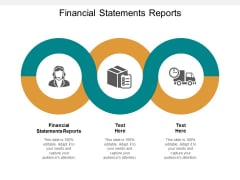 Financial Statements Reports Ppt PowerPoint Presentation Ideas Gallery Cpb