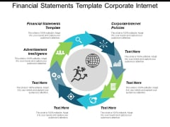 Financial Statements Template Corporate Internet Policies Advertisement Intelligence Ppt PowerPoint Presentation Infographic Template Designs Download