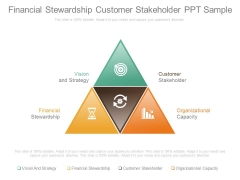 Financial Stewardship Customer Stakeholder Ppt Sample