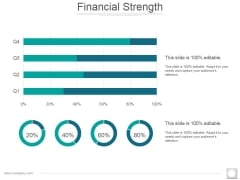 Financial Strength Ppt PowerPoint Presentation Model Icon