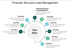 Financial Structure Lead Management Ppt PowerPoint Presentation Ideas Layout Ideas Cpb