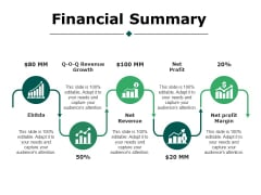 Financial Summary Ppt PowerPoint Presentation Styles Portfolio