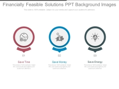 Financially Feasible Solutions Ppt Background Images