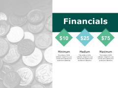 Financials Management Marketing Ppt PowerPoint Presentation Pictures Inspiration