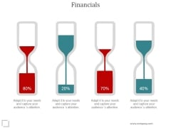 Financials Ppt PowerPoint Presentation Background Images