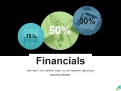 Financials Ppt PowerPoint Presentation Gallery Deck