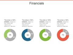 Financials Ppt PowerPoint Presentation Model Background
