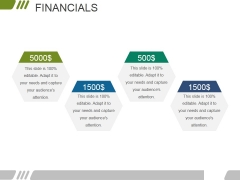 Financials Ppt PowerPoint Presentation Model Tips