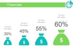 Financials Ppt PowerPoint Presentation Shapes